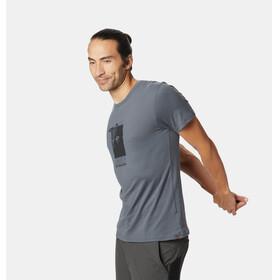Mountain Hardwear Straight Up SS T-Shirt Men graphite